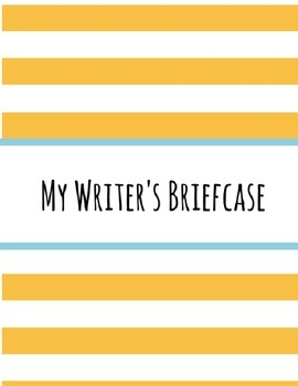 Back to School Writer's Briefcase