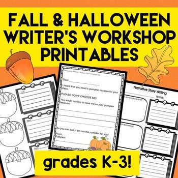 Fall, Thanksgiving and Halloween Writer's Workshop Kit Lan