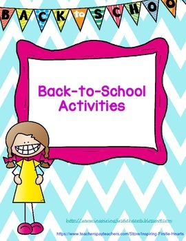 Back-to-School Writing Activities
