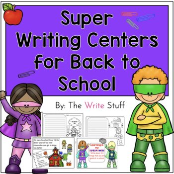 Back to School Writing Centers