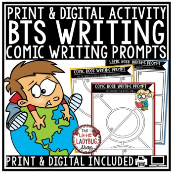 Back to School Writing Comics