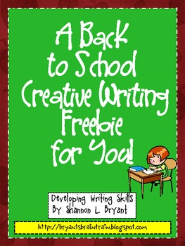 https://www.teacherspayteachers.com/Product/Back-to-School-Writing-FREEBIE-279438