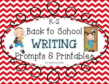 Back to School Writing Prompts & Printables