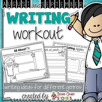 Back to School Writing - School, All About Me, Apples