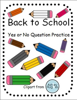 Back to School Yes or No Question Answering for Students w