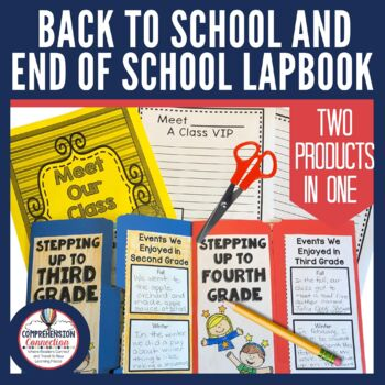 Back to School and End of the Year Memories Lapbook