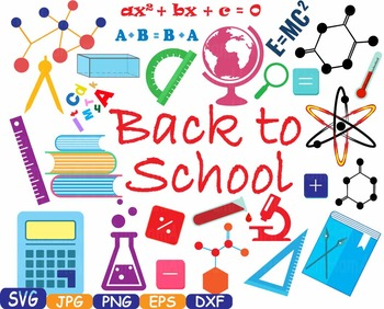 Back to School clipart math science Welcome teacher first