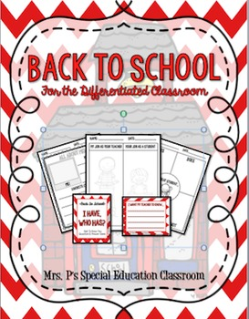 Back to School for the Differentiated Classroom