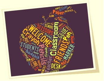 Back to School image for Classroom Decoration Poster or Sign
