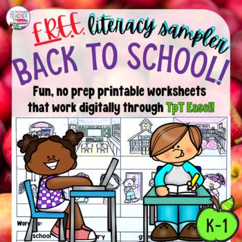 Back to School sampler - free!