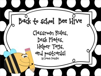Back to School with Bees