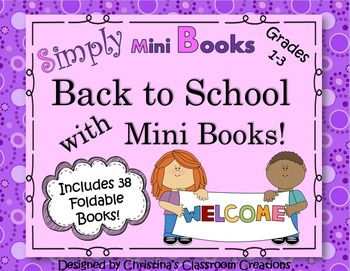 Back to School with Simply Mini Books: BUNDLE