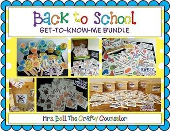 Get-To-Know-Me/Icebreaker/Back to School Bundle