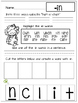 Back to School...Word Work...Print and Go!