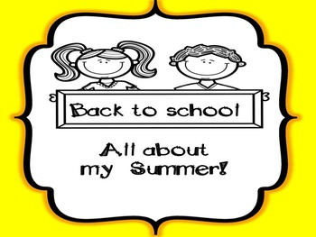 Back to school English and Spanish