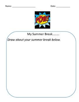 Back to school bundle superhero theme