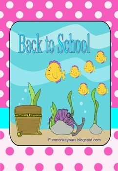 Back to school, fish opening