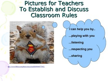Back to school rules and classroom management - pictures f
