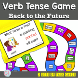 Back to the Future Verb Tense Board Game for Grammar