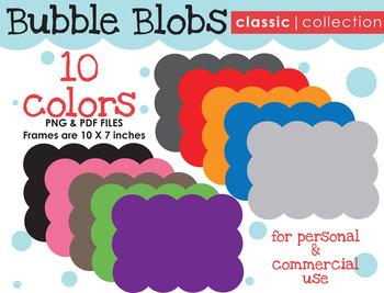 FRAMES: Bubble Blob {Classic Collection}