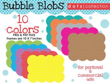 Background - Bubble Blob {Dots Collection}