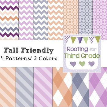 Backgrounds Paper Pack - Fall Friendly