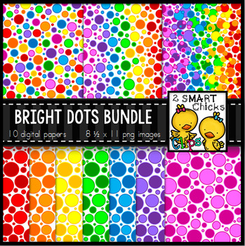Background Paper – Bright Dots Bundle