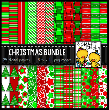 Background Paper – Christmas Bundle