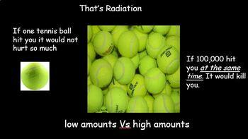 Background Radiation and methods of detecting radiation