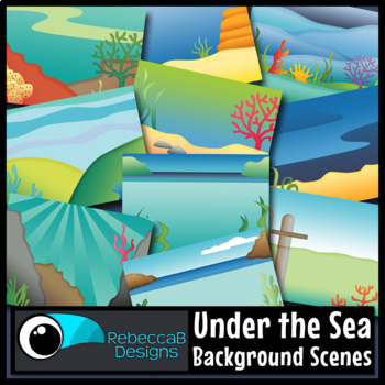 Landscape Clip Art (Under the Sea)