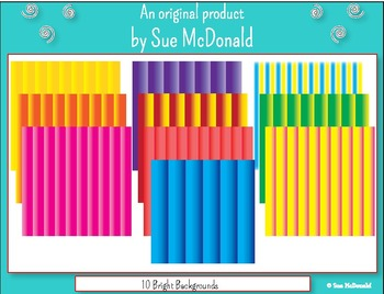 Backgrounds - 10 Bright Colored Backgrounds   - High Quali