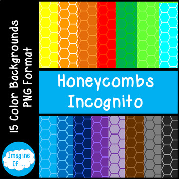 Backgrounds-Honeycombs with Black