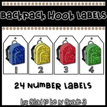 Backpack Hook Labels