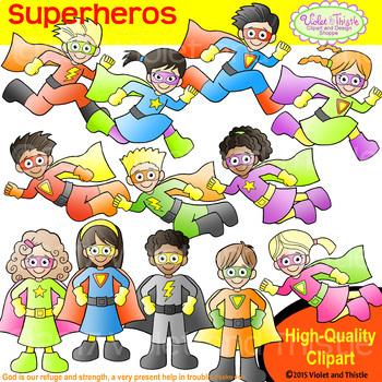 Backpack Kids Superheros Clipart Kids Super Heros Clip Art