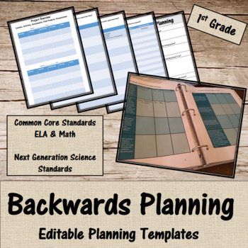 Backwards Planning for 1st Grade Teachers