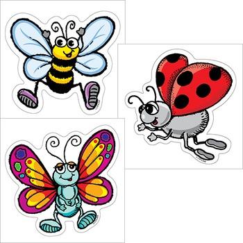 Backyard Bugs - Butterfly Ladybug Bee
