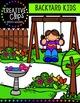 Backyard Kids {Creative Clips Digital Clipart}