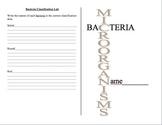 Bacteria Journal