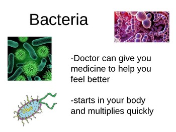 Bacteria/Virus & Communicable/Non-Communicable PowerPoint