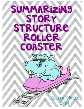 Story Structure Summarizing Roller Coaster