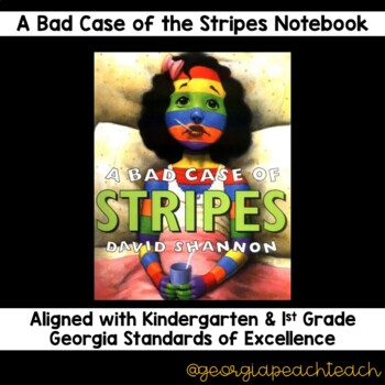 Bad Case of the Stripes Reading Notebook