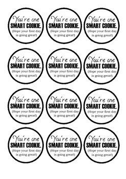 Badge - you're one smart cookie!