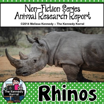 Rhinos {Nonfiction Animal Research Report}