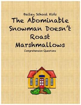 Bailey School Kids Abominable Snowman Doesn't Roast Marshm