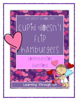 Bailey School Kids CUPID DOESN'T FLIP HAMBURGERS - Compreh