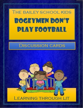 Bailey School Kids BOGEYMEN DON'T PLAY FOOTBALL - Discussi
