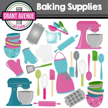 Baking Clipart - Kitchen Clipart