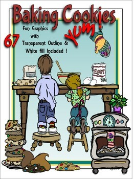 Baking Cookies Clipart (18 FREE Elements Included) Embelli