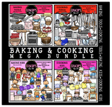 Baking & Cooking Clip Art Mega Bundle