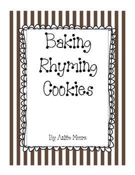 Baking Rhyming Cookies - A Rhyming Game